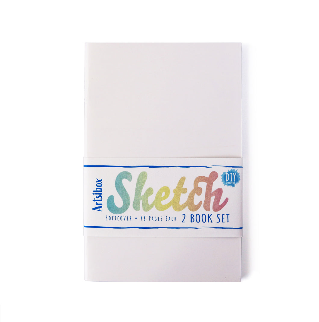 Softcover Sketchbook Set