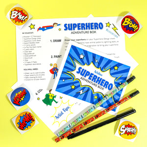 Comic Book Superhero Adventure Box
