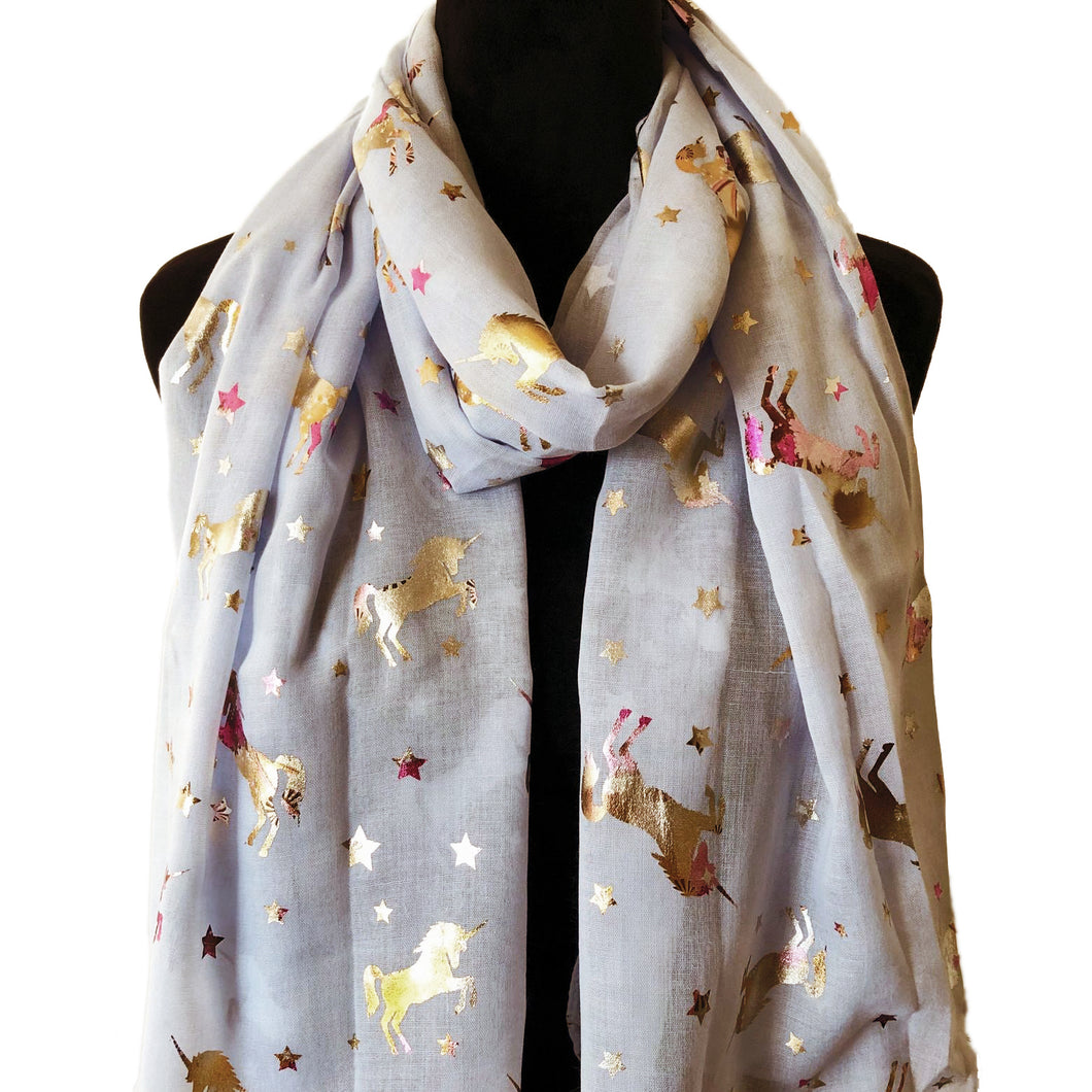 Unicorn Fashion Scarf