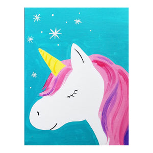 Magical Unicorn Canvas Painting Kit