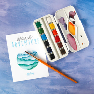 Watercolor Adventure Box