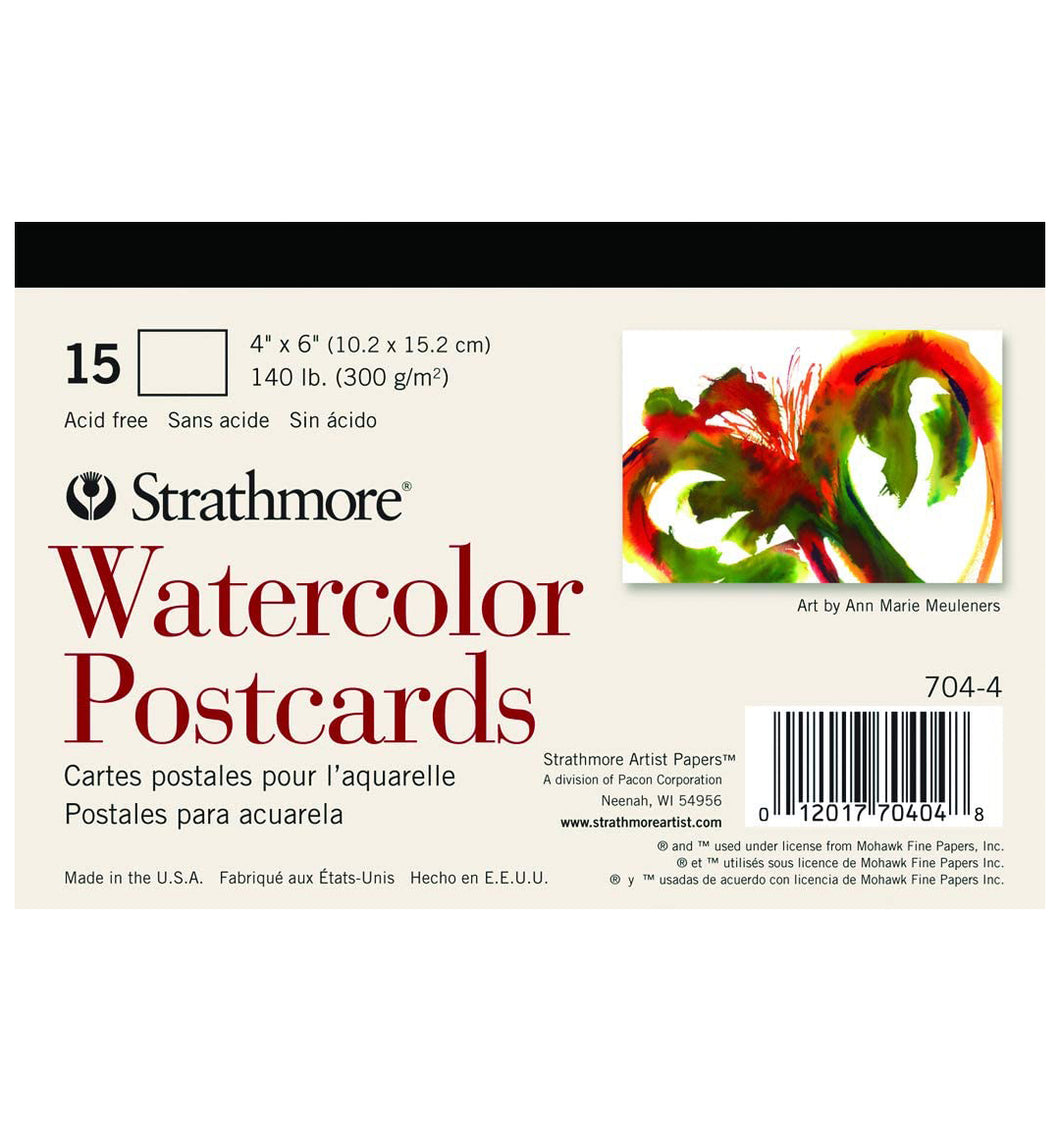 Strathmore Watercolor Postcards