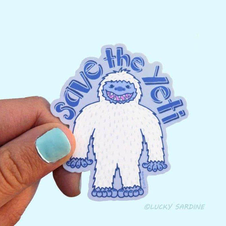 Save The Yeti Sticker