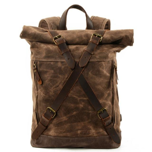 Montana Buffalo Rolled Top Backpack
