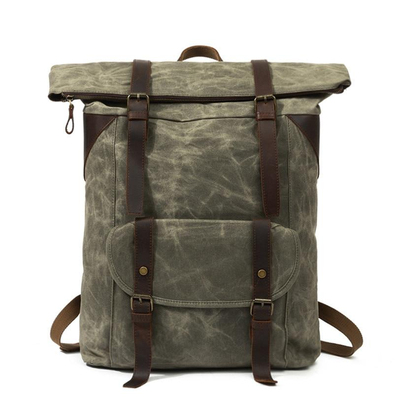 Montana Buffalo Strap Backpack