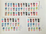 Pineapple Planner stickers You choose what size!