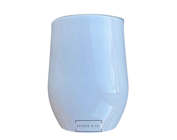 12 oz White Wine SUBLIMATION Blank Stainless Steel Tumbler Water Bottle wholesale