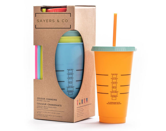 BLANK 24 oz. Color Changing Cold Cups