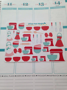 Baking/kitchen stickers (#17)
