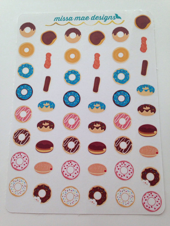 49 Donut stickers (000014)