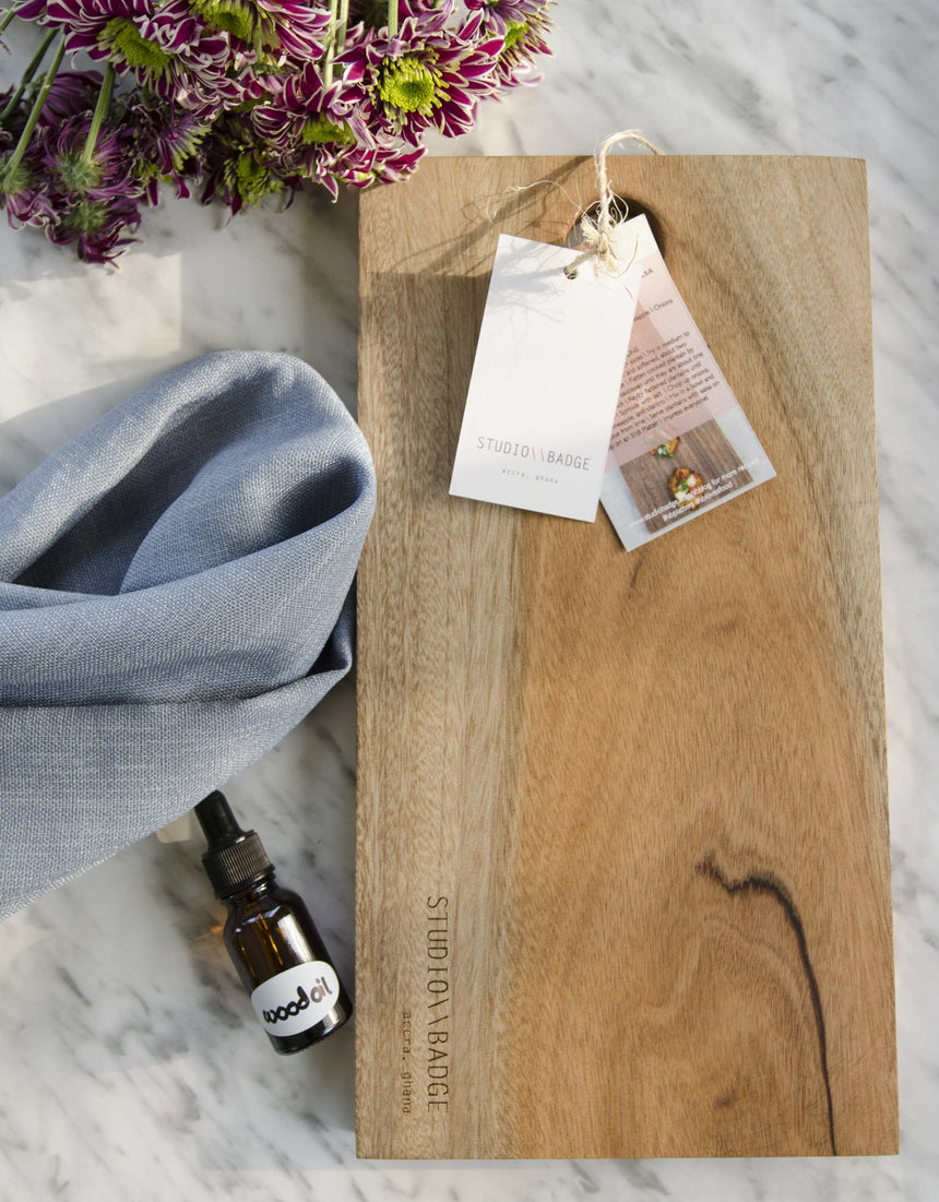 Taking care of your wood platters