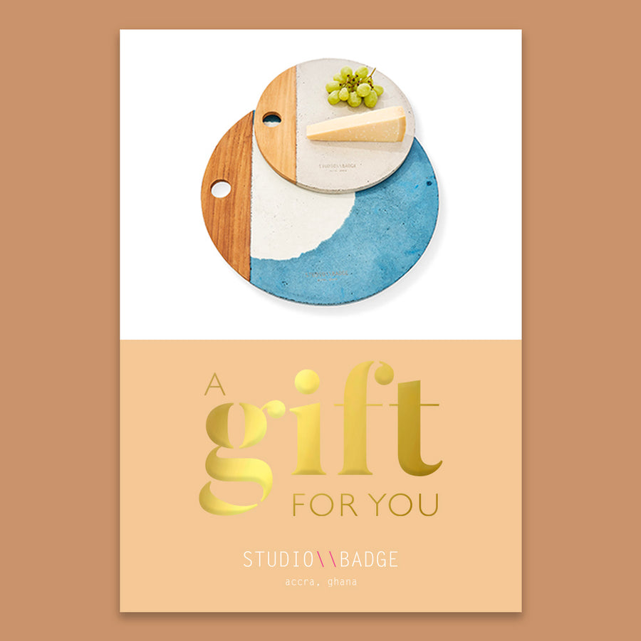 Studio Badge Gift Card