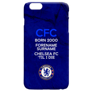Chelsea FC 'Til I Die Hard Back Phone Case