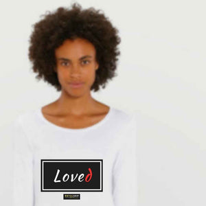 Organic Long Sleeve T Shirt - Loved