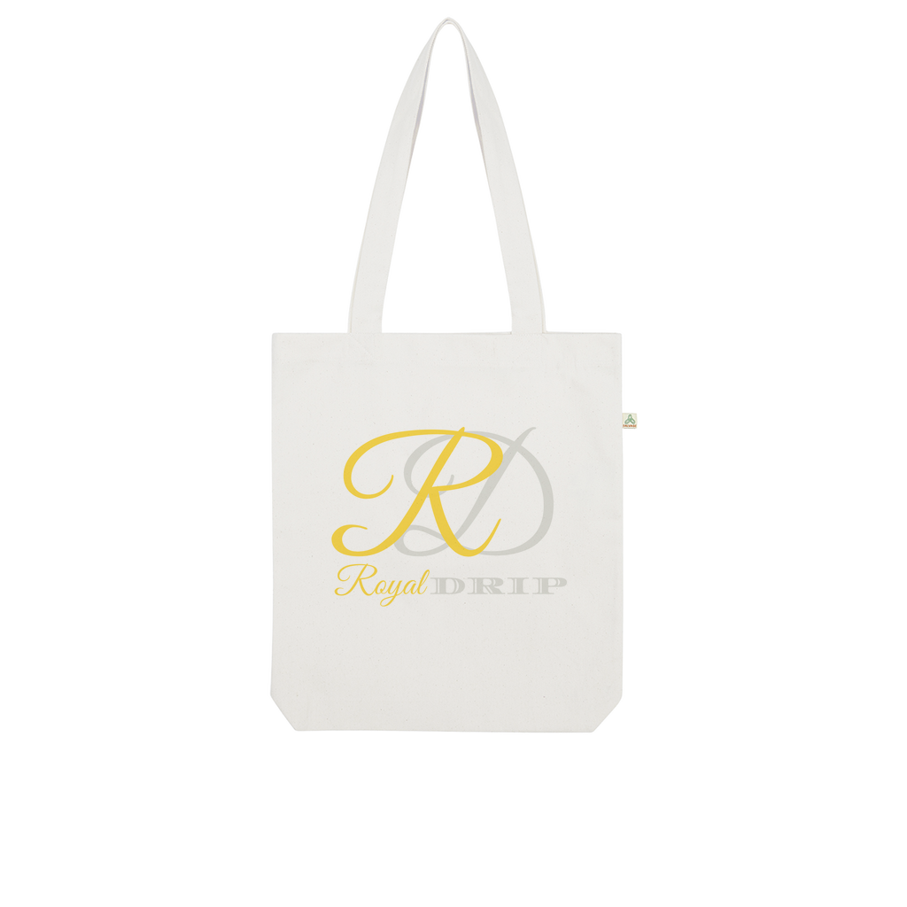 RoyalDrip Signature Organic Tote Bag