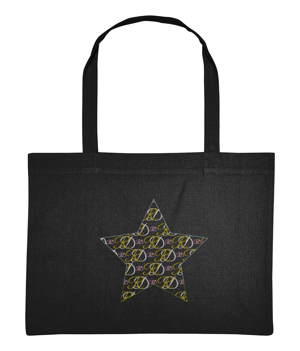 RoyalDrip Mono Star Shopping Bag