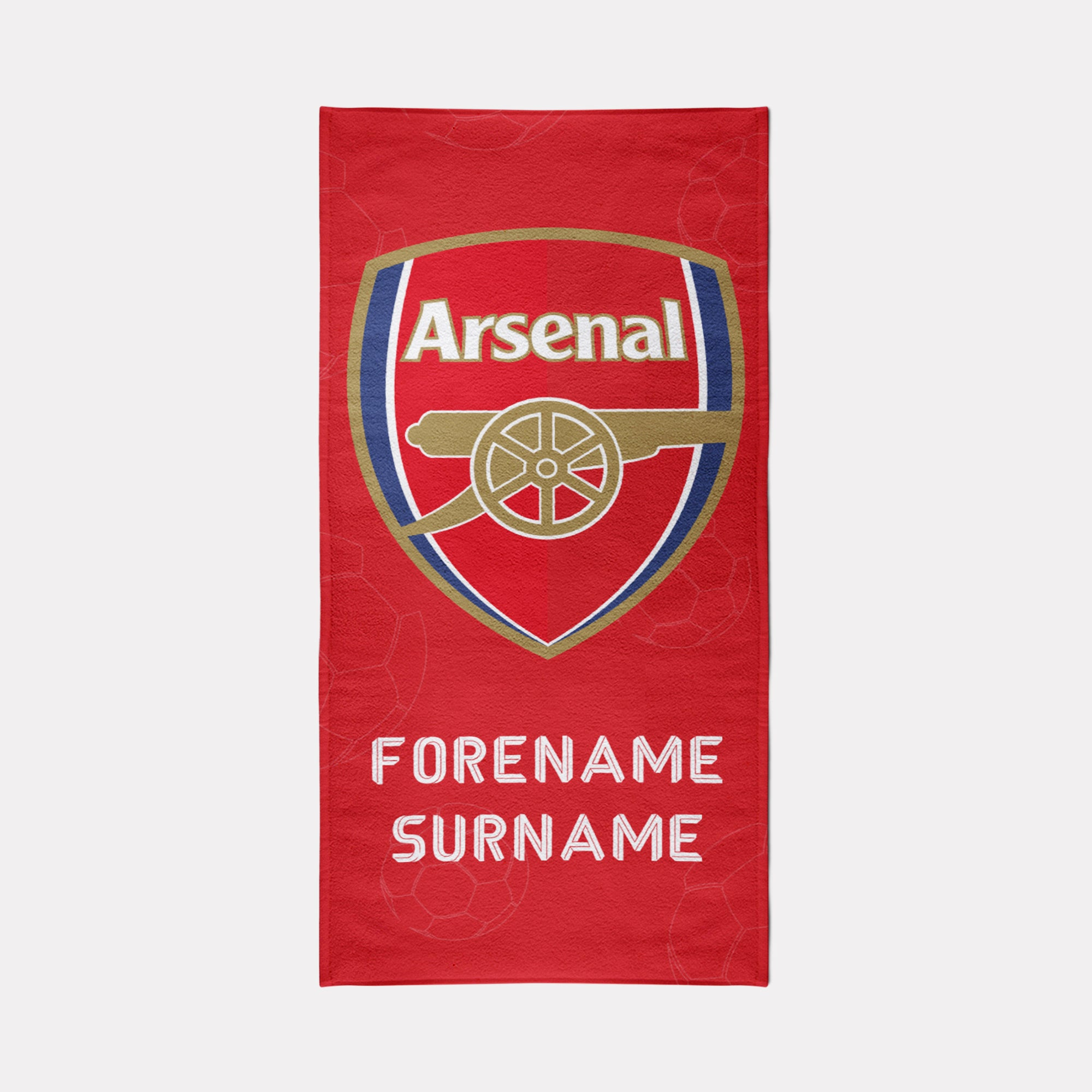 Arsenal FC Towel - Crest Design