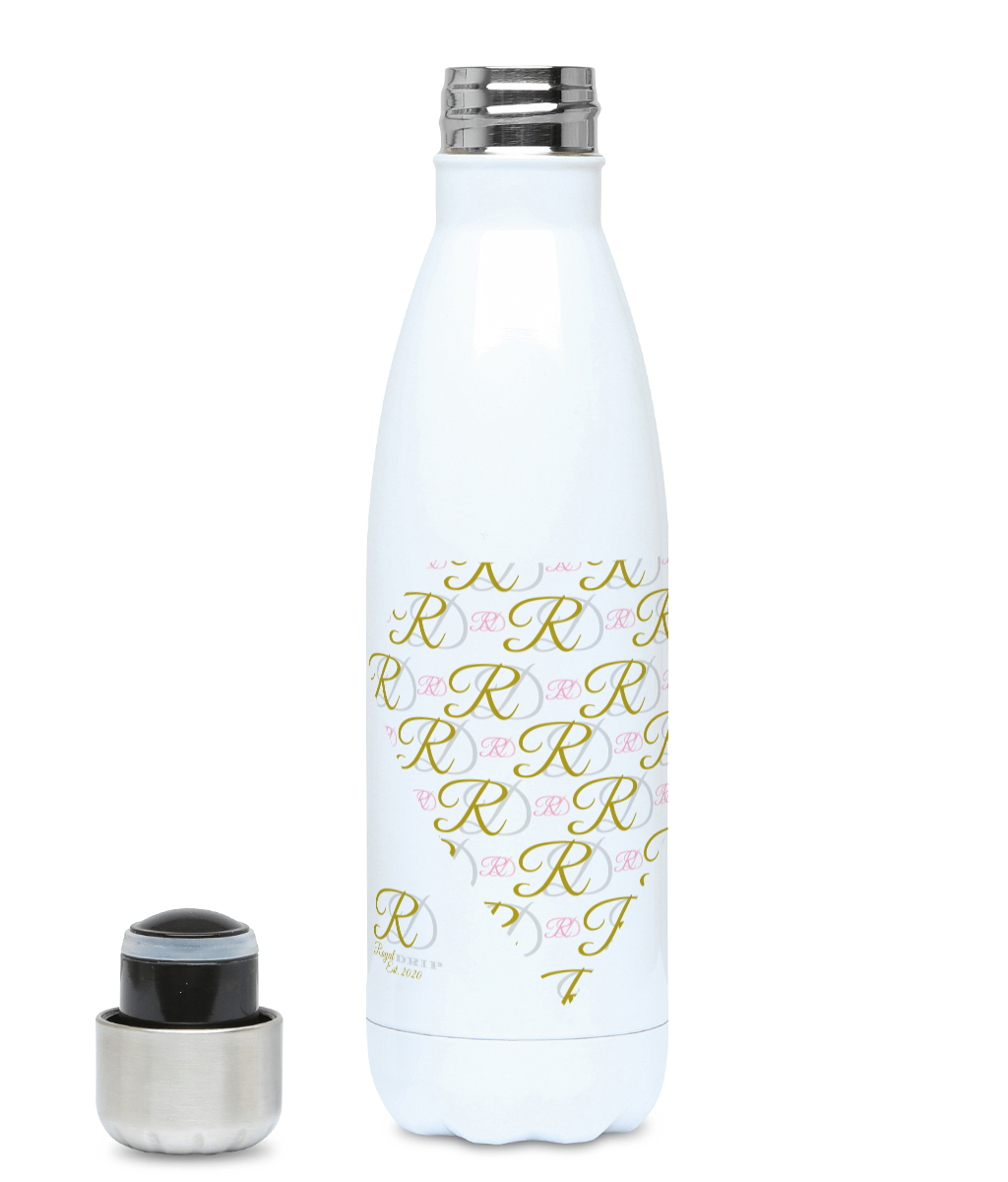 RoyalDrip Monogram - Heart Hydro Flask