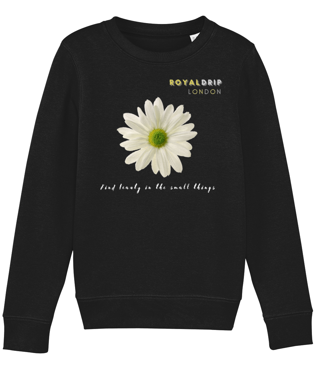 RoyalDrip A/W Girls Sweater - Daisies