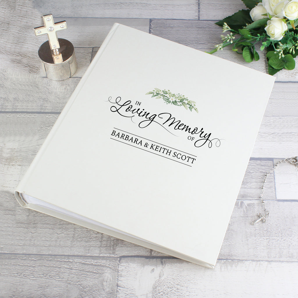 Personalised In Loving Memory Traditional Album