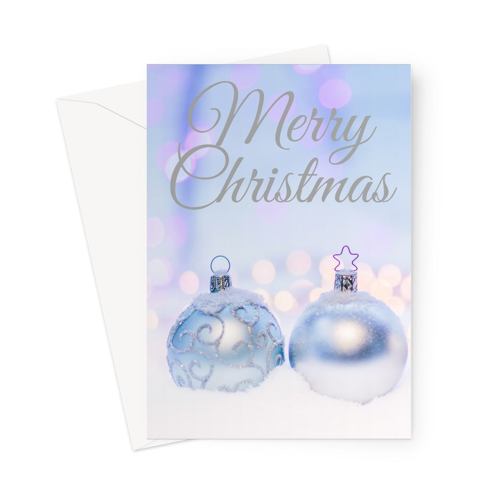 Christmas Greeting Cards - Snowflake designs