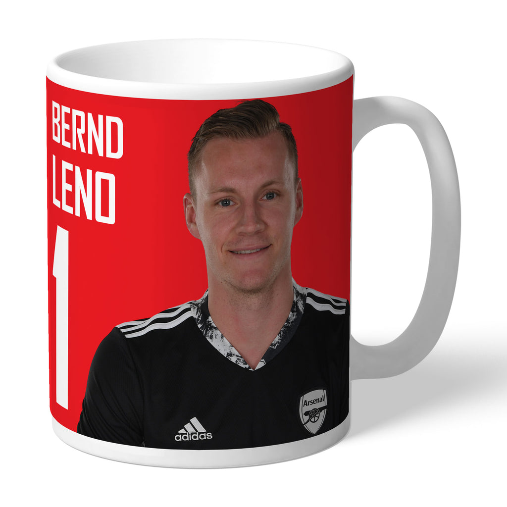 Arsenal FC Player Autograph Mug