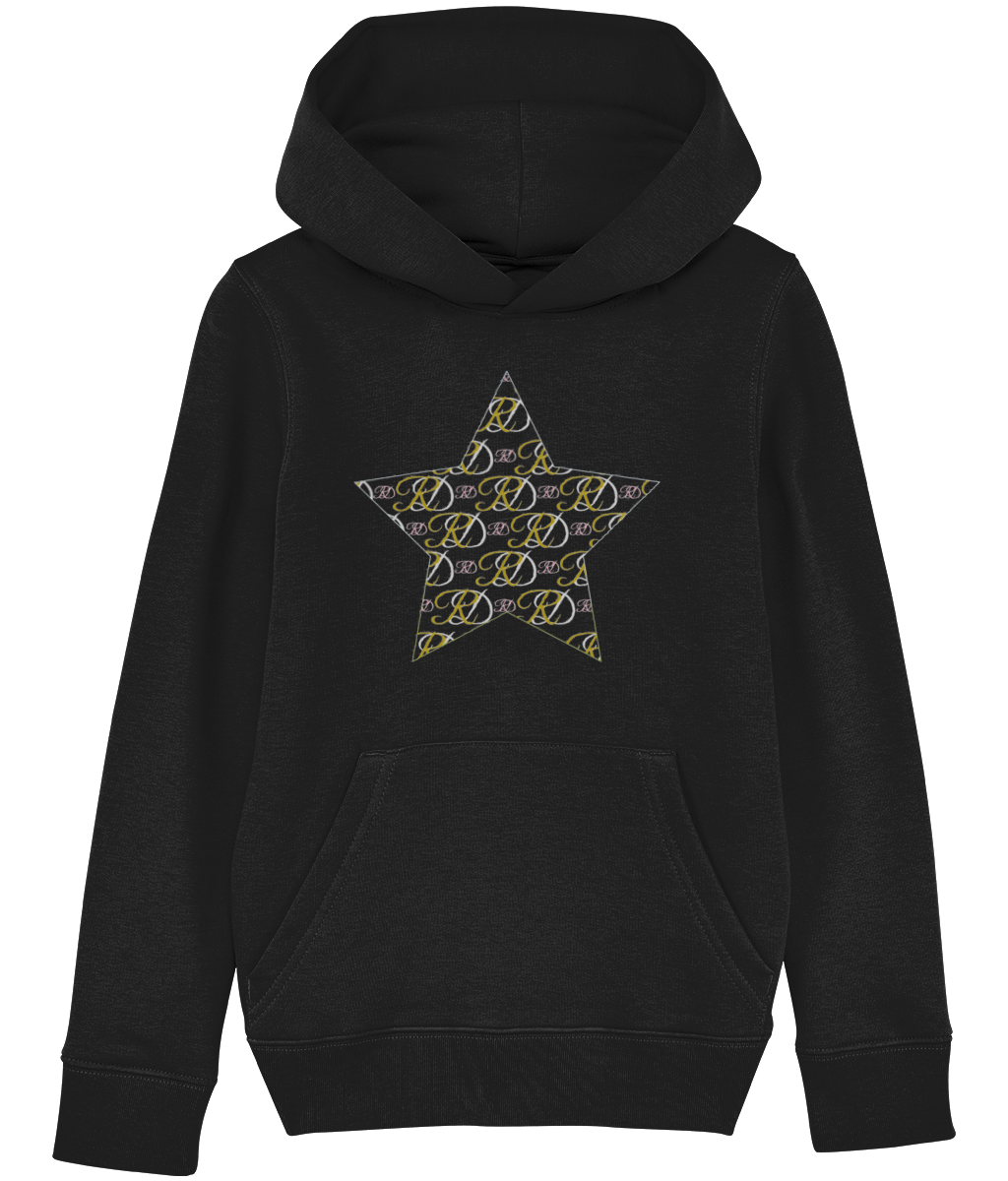 RoyalDrip Star Monogram Unisexx Kids Hoodie