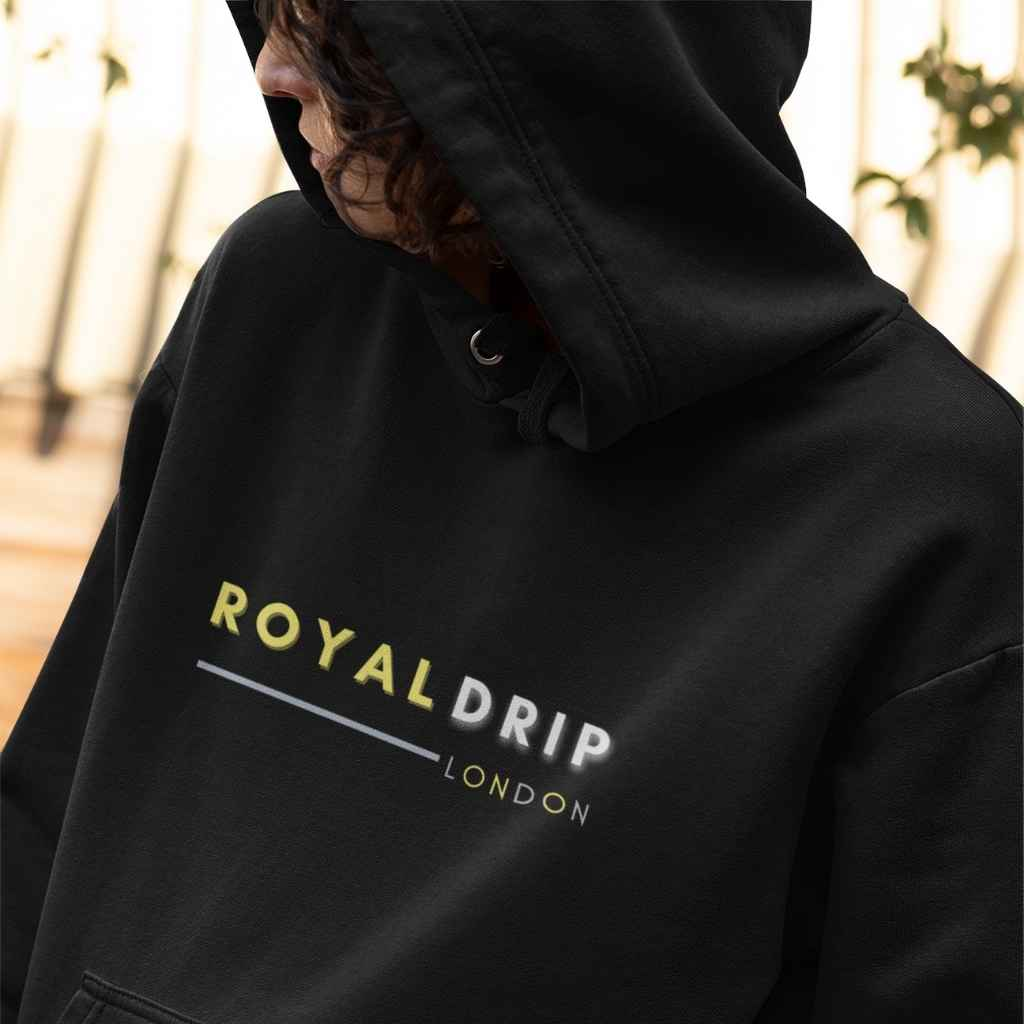 RoyalDrip London Logo Unisex Hoodie