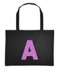 RoyalDrip Mono Purple Initial Shopping Bag RoyalDrip