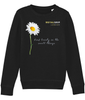 RoyalDrip Unisex Sweater - Daisy Stem