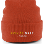 Embroidered RoyalDrip Cuffed Beanie