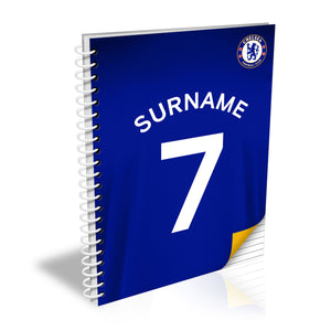 Chelsea FC Shirt Notebook