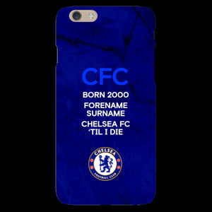 Chelsea FC 'Til I Die iPhone 6/6S Phone Case