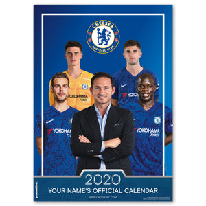 Chelsea Official Personalised Calendar