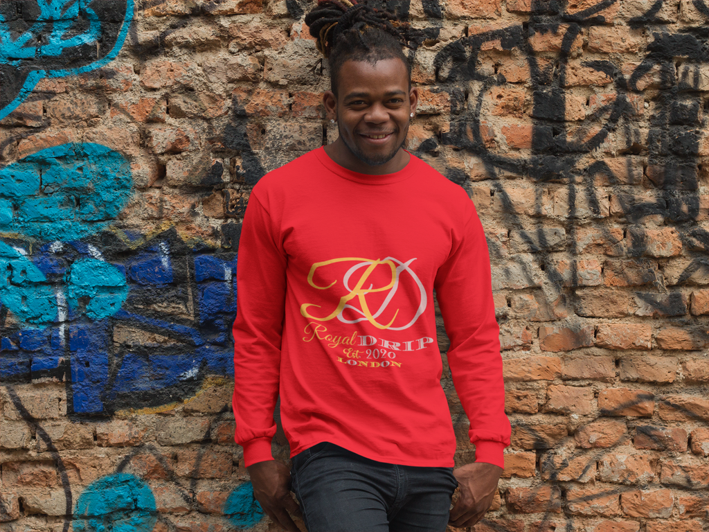 RoyalDrip Signature - Classic Long Sleeve T Shirt