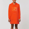 RoyalDrip Signature Hoodie Dress - Front Logo