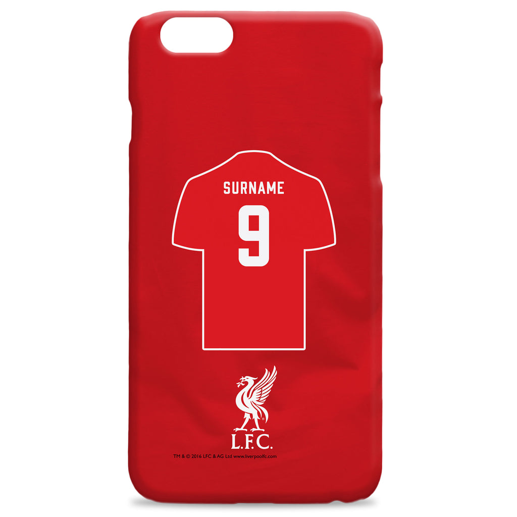 Liverpool FC Shirt Hard Back Phone Case