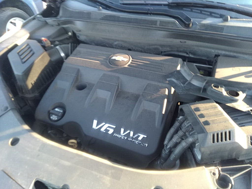 2013 Chevy Equinox Engine 3.6L (VIN 3, 8th digit, opt LFX) 50K Miles!