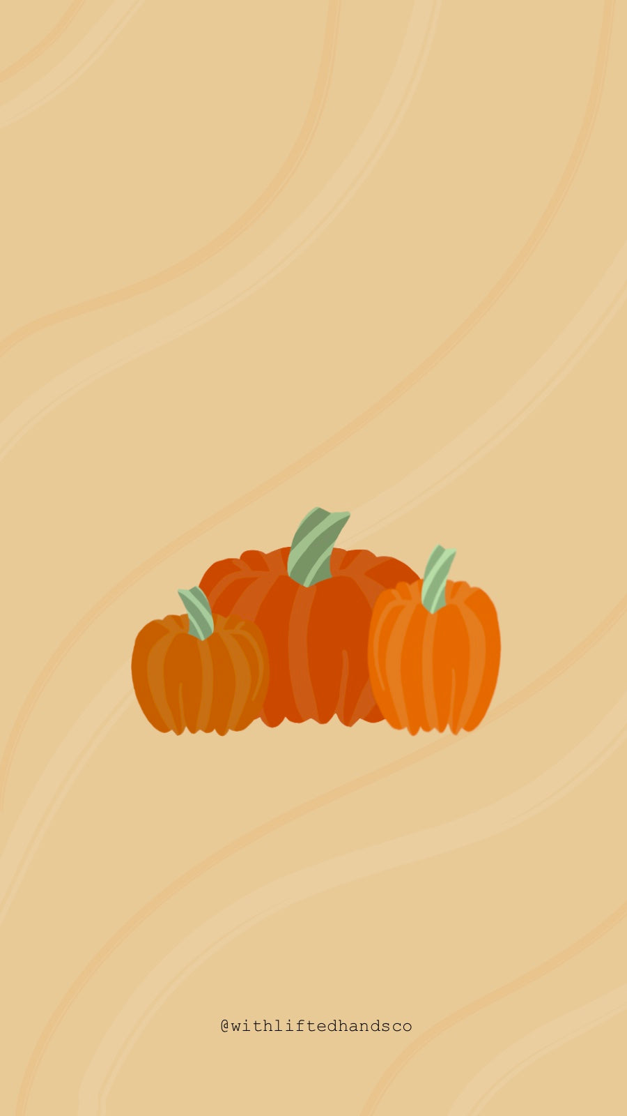 Pumpkins Faith phone wallpapers by with lifted hands co