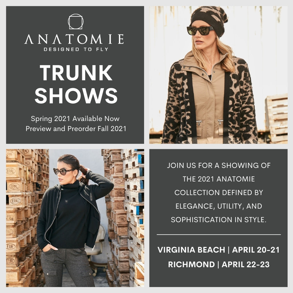 Anatomie Spring 2021 Trunk Shows