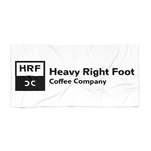HRFCC Logo Beach Towel
