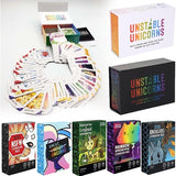 2Base package/5 Expansion package Unicorn Fun Board Games Unstable Unicorns Card Games Fun Best Board Games Basic/Expansion Angry Unicorn