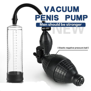 Portable Electric Impulse Pump for Men Training Exerciser Give You Unexpected Surprises