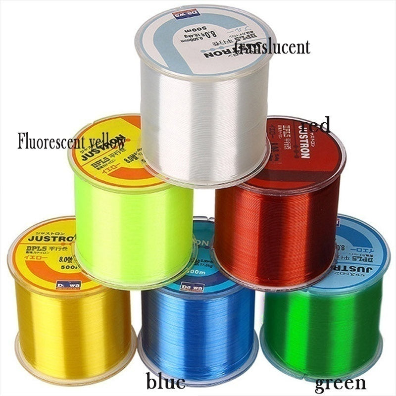 500M Super Power Braided Fishing Line Abrasion Resistant Braid Fishing Line PE Strong Multifilament Fish Line