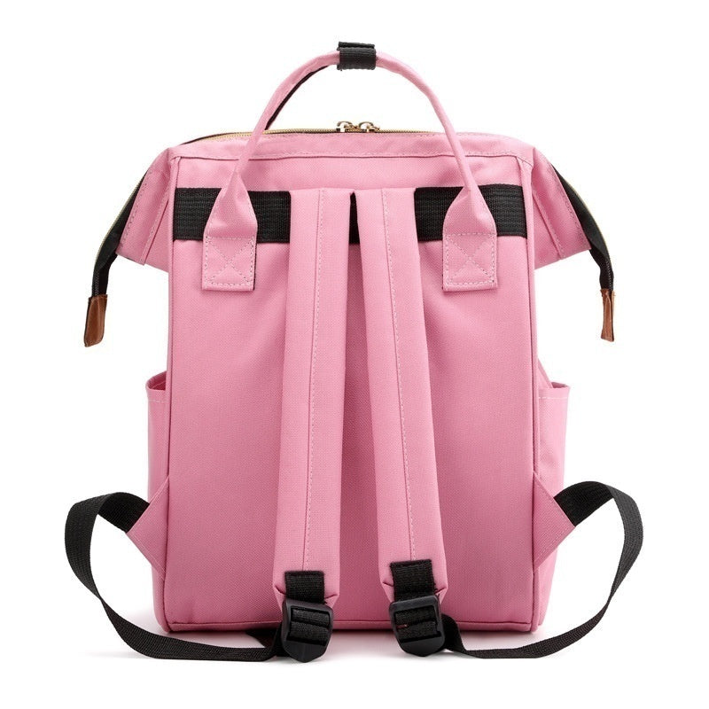 Fashion Women Backpack Mummy Nappy Diaper Bag Backpack Women Men Large Capacity Waterproof Casual Travel Backpack for Baby Care Backpack