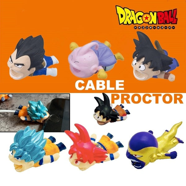 New Dragon Ball Super Cable Bite Phone Accessories Cable Protector