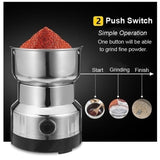 High Quality Electric Stainless Steel Steel Grinding Coffee Bean Milling Machine Home Office