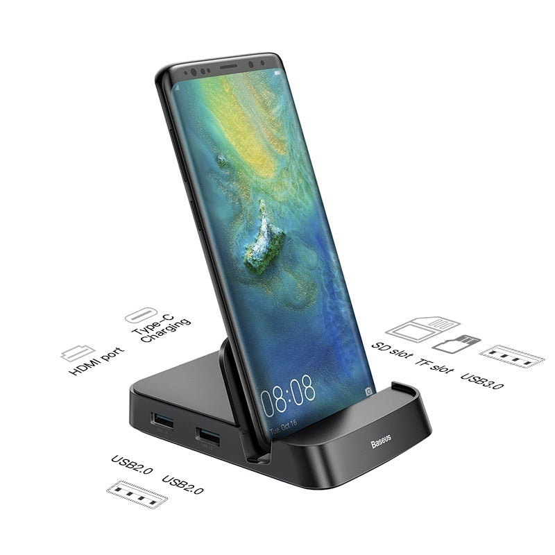 USB Type C HUB Docking Station for Samsung S10 S9 Dex Pad Station USB-C To HDMI Dock Power Adapter for Huawei P30 P20 Pro