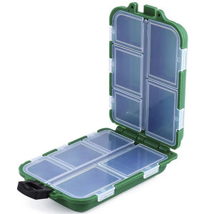 Fishing Lure Bait Tackle Waterproof Storage Box Case With10 Compartments