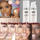 12ML Women Facial Makeup Foundation Base Liquid Cream Long Lasting Moisturizer
